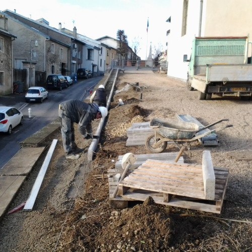 Travaux de remplacement des clôtures du cimetière