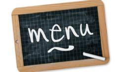 Les menus de la cantine