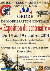 Affiche expo Grande guerre