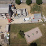 L'ancienne école Franchi en cours de transformation