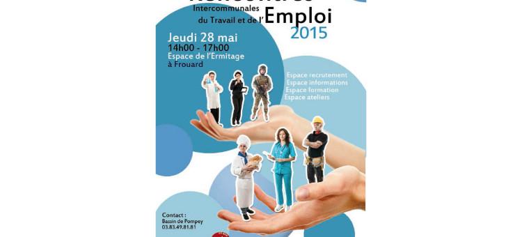 Rencontres intercommunales du Travail et de l'Emploi le 28 mai 2015