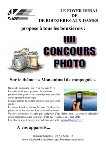 tract 3 concours photo