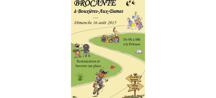 Brocante – Dimanche 16 août 2015
