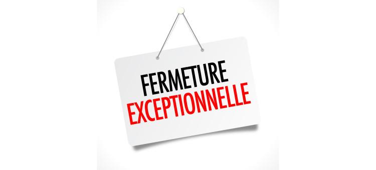 Fermeture exceptionnelle Décheterrie et Composterie
