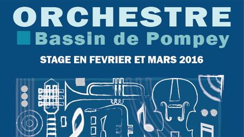 Orchestre Bassin de Pompey : stage en février et mars 2016