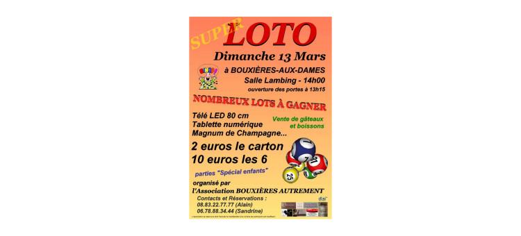 Super Loto – Dimanche 13 mars 2016 – Salle Lambing