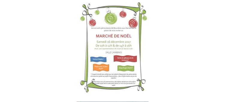 Marché de Noël – Samedi 16 décembre 2017 – Salle Lambing
