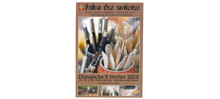 Salon des artistes – Dimanche 9 février 2020