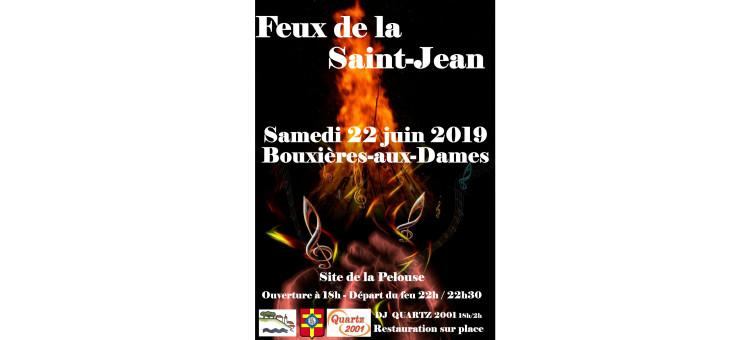 Feux de la Saint-Jean le samedi 22 juin 2019