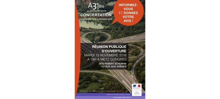 Concertation publique A31 bis