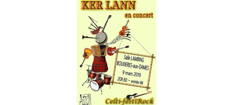 Ker Lann en concert – Salle Lambing – 9 mars 2019