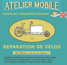 Atelier mobile pour réparer son vélo soi-même !