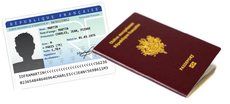 Information – Carte d'identité – Passeport