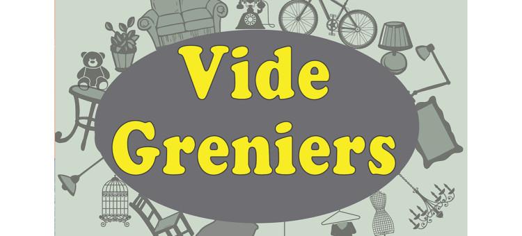 Vide Grenier au village le dimanche 10 octobre 2021